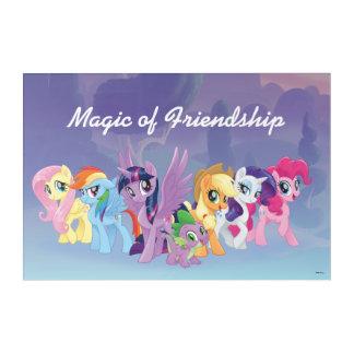 My Little Pony | Mane Six in Equestria Acrylic Print