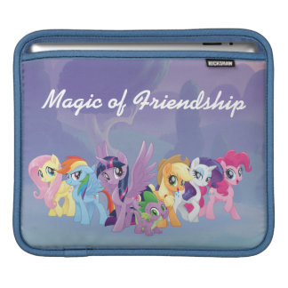 My Little Pony | Mane Six in Equestria iPad Sleeve