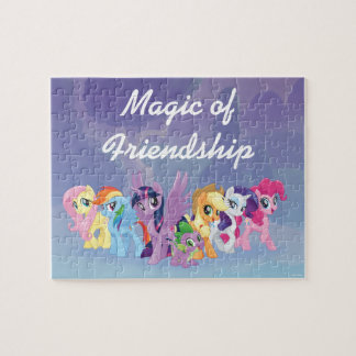 My Little Pony | Mane Six in Equestria Jigsaw Puzzle