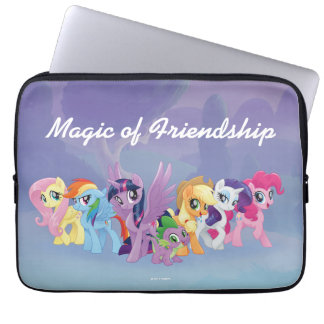 My Little Pony | Mane Six in Equestria Laptop Sleeve