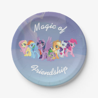 My Little Pony | Mane Six in Equestria Paper Plate