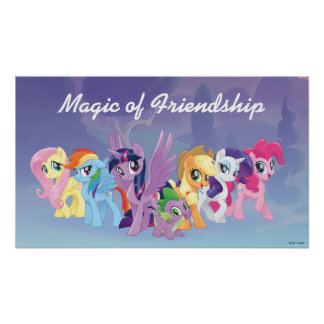 My Little Pony | Mane Six in Equestria Poster