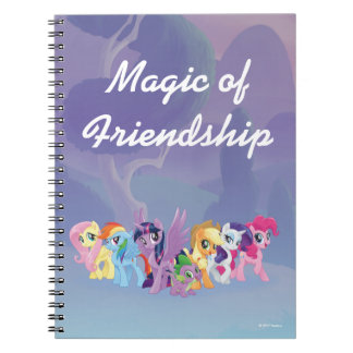 My Little Pony | Mane Six in Equestria Spiral Notebook