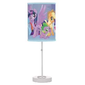My Little Pony | Mane Six in Equestria Table Lamp