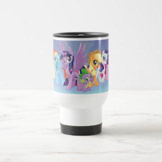 My Little Pony | Mane Six in Equestria Travel Mug