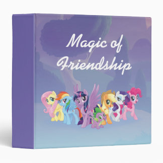 My Little Pony | Mane Six in Equestria Vinyl Binders