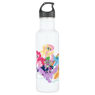 My Little Pony | Mane Six on Clouds 710 Ml Water Bottle