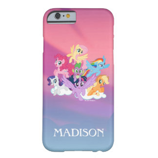 My Little Pony | Mane Six on Clouds Barely There iPhone 6 Case
