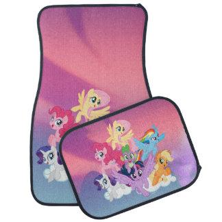 My Little Pony   Mane Six on Clouds Car Mat