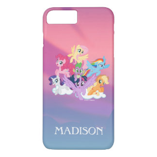 My Little Pony | Mane Six on Clouds iPhone 8 Plus/7 Plus Case