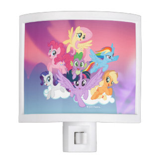 My Little Pony | Mane Six on Clouds Nite Light
