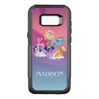 My Little Pony | Mane Six on Clouds OtterBox Commuter Samsung Galaxy S8+ Case