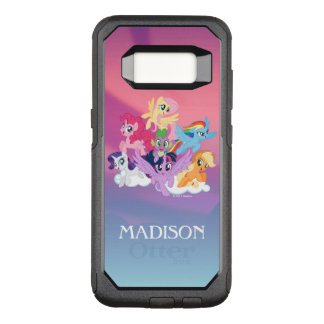 My Little Pony | Mane Six on Clouds OtterBox Commuter Samsung Galaxy S8 Case