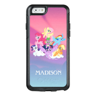 My Little Pony | Mane Six on Clouds OtterBox iPhone 6/6s Case
