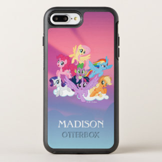 My Little Pony | Mane Six on Clouds OtterBox Symmetry iPhone 7 Plus Case