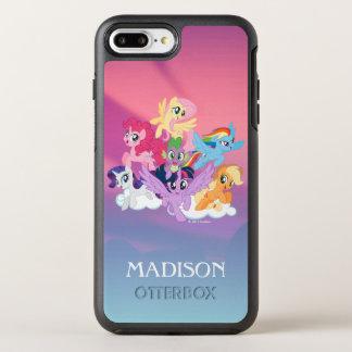 My Little Pony | Mane Six on Clouds OtterBox Symmetry iPhone 8 Plus/7 Plus Case