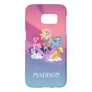 My Little Pony | Mane Six on Clouds Samsung Galaxy S7 Case