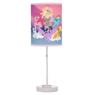 My Little Pony | Mane Six on Clouds Table Lamp