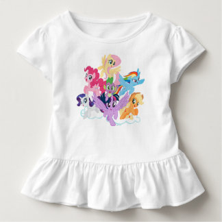 My Little Pony | Mane Six on Clouds Toddler T-shirt