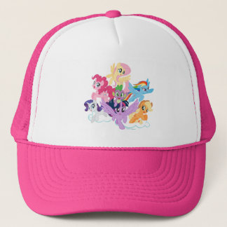 My Little Pony | Mane Six on Clouds Trucker Hat