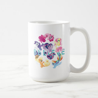 My Little Pony | Mane Six Seaponies - Believe Coffee Mug