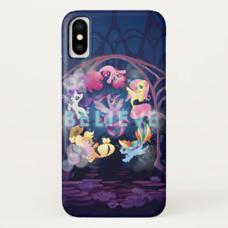 My Little Pony | Mane Six Seaponies - Believe iPhone X Case