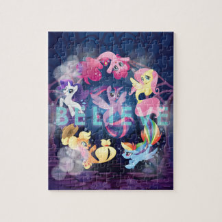 My Little Pony | Mane Six Seaponies - Believe Jigsaw Puzzle