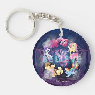 My Little Pony | Mane Six Seaponies - Believe Keychain
