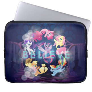 My Little Pony | Mane Six Seaponies - Believe Laptop Sleeve