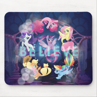 My Little Pony | Mane Six Seaponies - Believe Mouse Pad