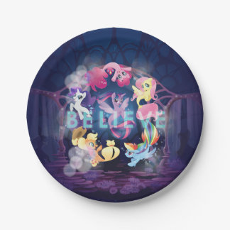 My Little Pony | Mane Six Seaponies - Believe Paper Plate