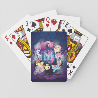 My Little Pony | Mane Six Seaponies - Believe Playing Cards