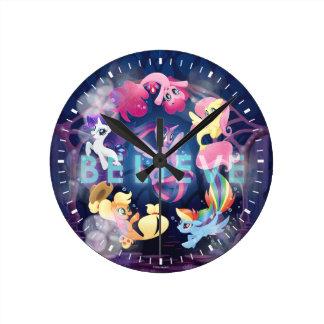 My Little Pony | Mane Six Seaponies - Believe Round Clock