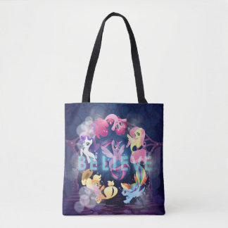 My Little Pony | Mane Six Seaponies - Believe Tote Bag
