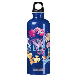 My Little Pony | Mane Six Seaponies - Believe Water Bottle