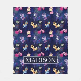 My Little Pony   Mane Six Seapony Pattern Fleece Blanket