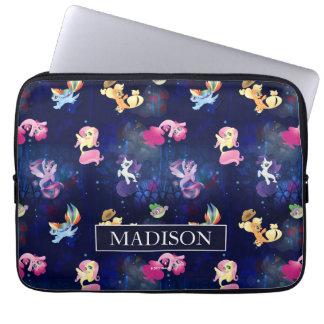 My Little Pony | Mane Six Seapony Pattern Laptop Sleeve