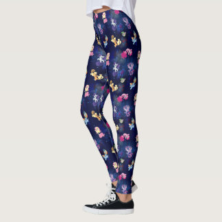 My Little Pony | Mane Six Seapony Pattern Leggings