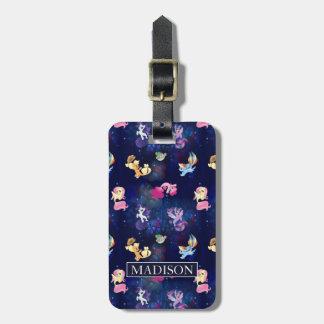 My Little Pony | Mane Six Seapony Pattern Luggage Tag