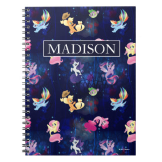 My Little Pony   Mane Six Seapony Pattern Notebooks