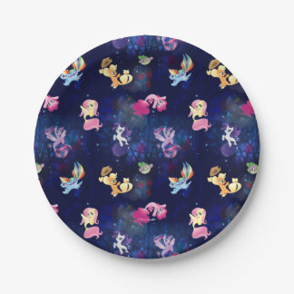 My Little Pony | Mane Six Seapony Pattern Paper Plate