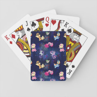 My Little Pony | Mane Six Seapony Pattern Playing Cards