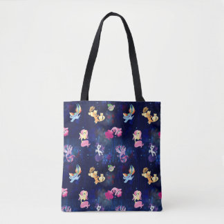 My Little Pony | Mane Six Seapony Pattern Tote Bag