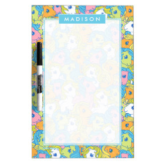 My Little Pony | Pastel Pattern Dry Erase Board