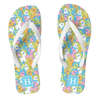 My Little Pony | Pastel Pattern Flip Flops