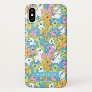 My Little Pony | Pastel Pattern iPhone X Case