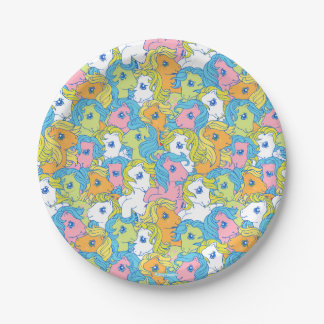 My Little Pony | Pastel Pattern Paper Plate