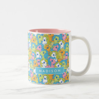 My Little Pony | Pastel Pattern Two-Tone Coffee Mug