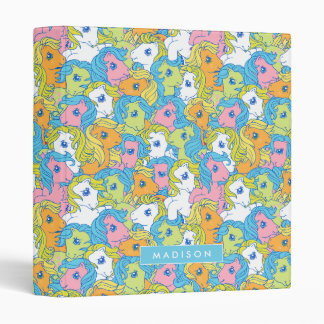 My Little Pony | Pastel Pattern Vinyl Binders