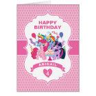 My Little Pony | Pink Birthday Card
